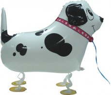 M1 METALLIC WHITE DOGGY AIRWALKER