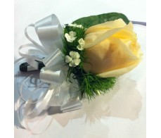 CO14 YELLOW ROSE CORSAGE