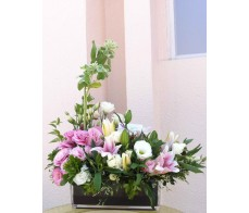 T25 TIGER LILIES TABLE FLOWER